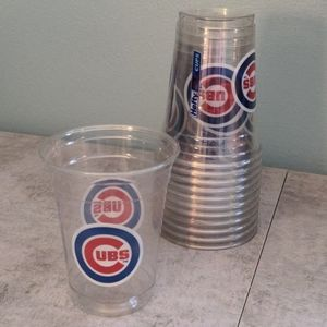 3 for $15 Chicago Cubs Lot of 12 Hefty Party Cups